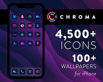 Chroma - iOS 14 Icon Pack for iPhone & iPad