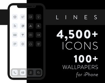 Lines – iOS 14 Icons for iPhone & iPad