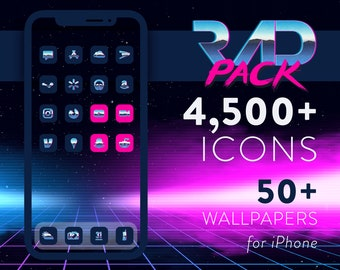 Rad Pack - 80's iOS 14 Icons for iPhone & iPad