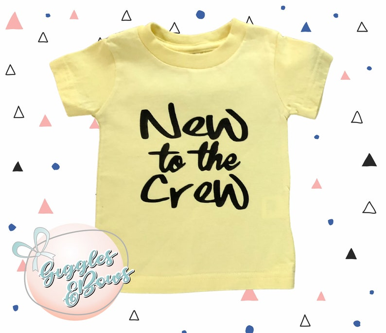 NEW TO THE...  Infant T-Shirt  100% Cotton Jersey image 0