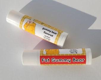 Fat Gummy Bear Anime Inspired Lip Balm