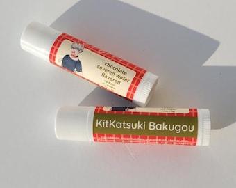 KitKatsuki Bakugou Anime Inspired Lip Balm