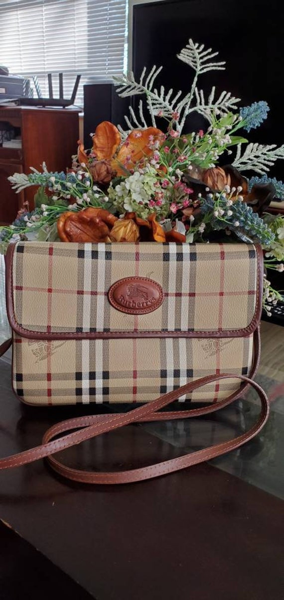 Authentic vintage burberry bag
