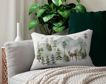 Nature Throw Pillow Etsy