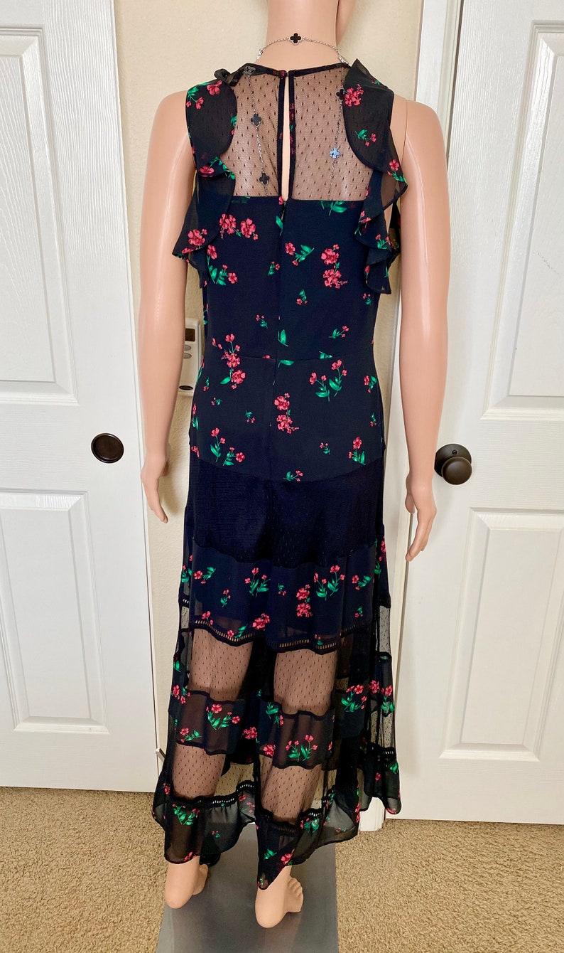 size 6 Maxi floral dress