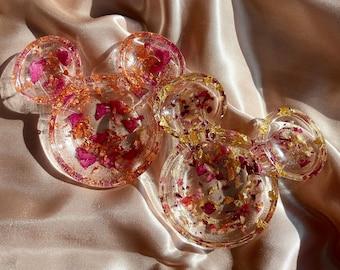 Home Decor Resin Trinket Disney Trinket Dish Mickey Trinket Dish Jewelry Holder Crystal Holder Jewelry Dish