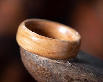 Bespoke Handmade Bentwood Ring - Oak - Wooden Ring, Natural