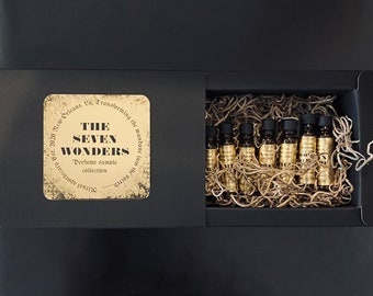 The Seven Wonders Perfume Sample Collection