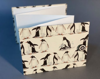 Hand bound Accordion Album with unique paper. Made To Order