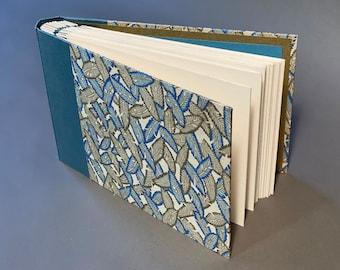 Hand bound Photo Album with unique paper. Made To Order