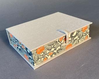 Handmade Medium Presentation Box with bone clasp. Made To Order