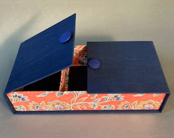 Unique Handmade 3 Compartment Jewelry Box. Made To Order