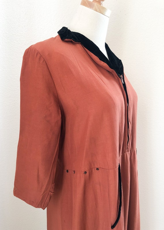 1940's Pink Robe Dress - image 5
