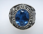 101st Airborne Division Ring , Sterling Silver 925 , Military , Army , Gift , Military Ring , Airborne