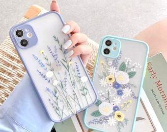 Floral Iphone Case Etsy