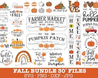 Autumn svg   Fall svg bundle   Happy fall svg   Pumpkin svg   Hello fall svg   Svg bundle for cricut, silhouette, sublimation