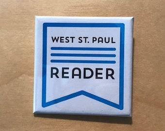 West St. Paul Reader button