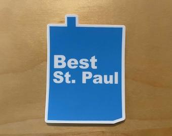 Best St. Paul Sticker