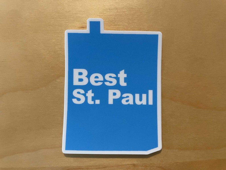 Best St. Paul Sticker image 0