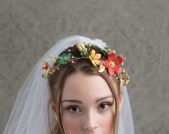 Primavera Large Wedding Hair Vine
