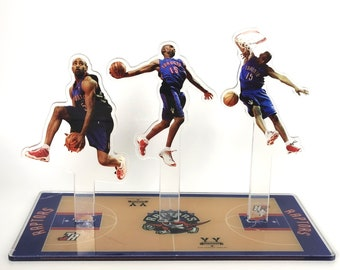 Custom Standing Figure - Design Your Ornament Inspired by Vince Carter Trio - Between Legs Dunk -The Greatest Dunker of All Time Memorabilia