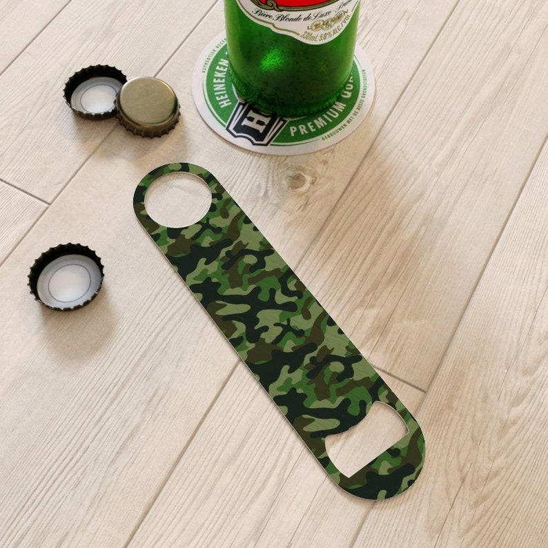 Bottle Openers Camo Green