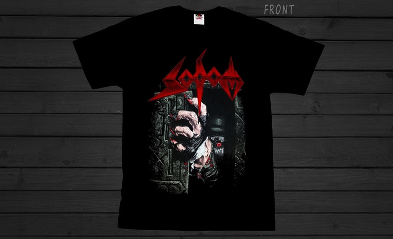 SIZES:S to 7XL Thrash metal Band T/_shirt SODOM-Better Off Dead-Heavy metal