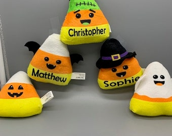 Personalized Halloween Plush