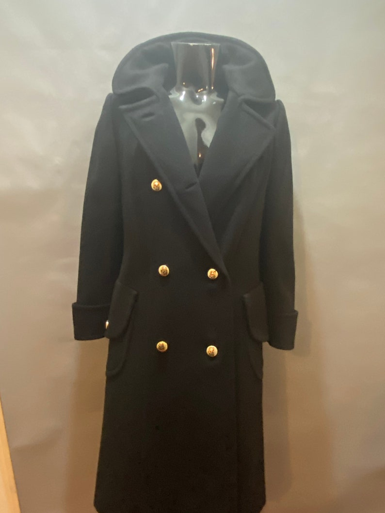 Vintage Ohrbach\u2019s double breasted wool coat