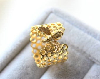 Brass Ring Findings Silver Plated Ring Silver Plated Adjustable Honeycomb Ring Brass Ring Wholesale Ring Jewelry Ring ARS084