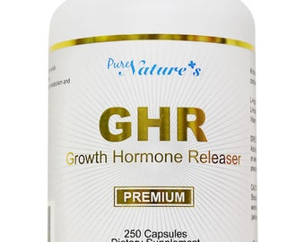 PNC] GHR (Growth Hormone Releaser) an Amino Acid Supplement - 250 Caps - Healthcare Supplement -