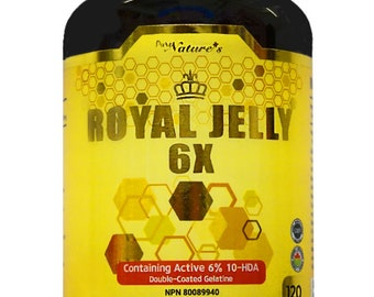 PNC] Royal Jelly 6X Double Coated Gelatine - Healthcare Supplement -120 Caps