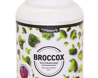 PNC] BROCCOX Sulforaphane Broccoli Extract 20:1 Support Respiratory Health - 90 Caps -