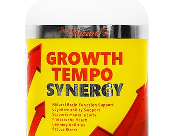 PNC] Growth Tempo Synergy 60 Caps - Nutrition for Brain Formation Containing various superior ingredients