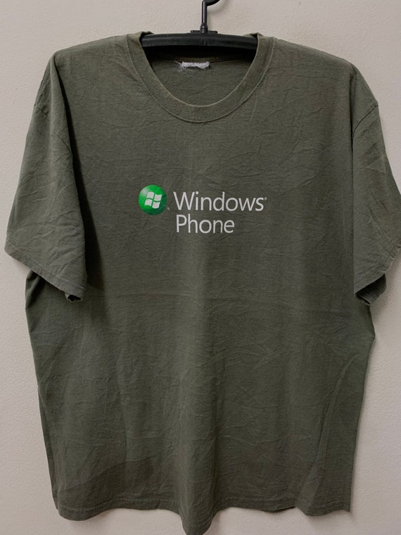 Vintage Windows Phone /Pop Art /T-shirt/Xl 23""