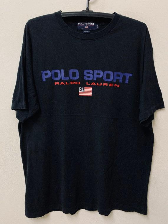 Vintage90s Polo Sport Ralph Lauren Flag /Sport Str
