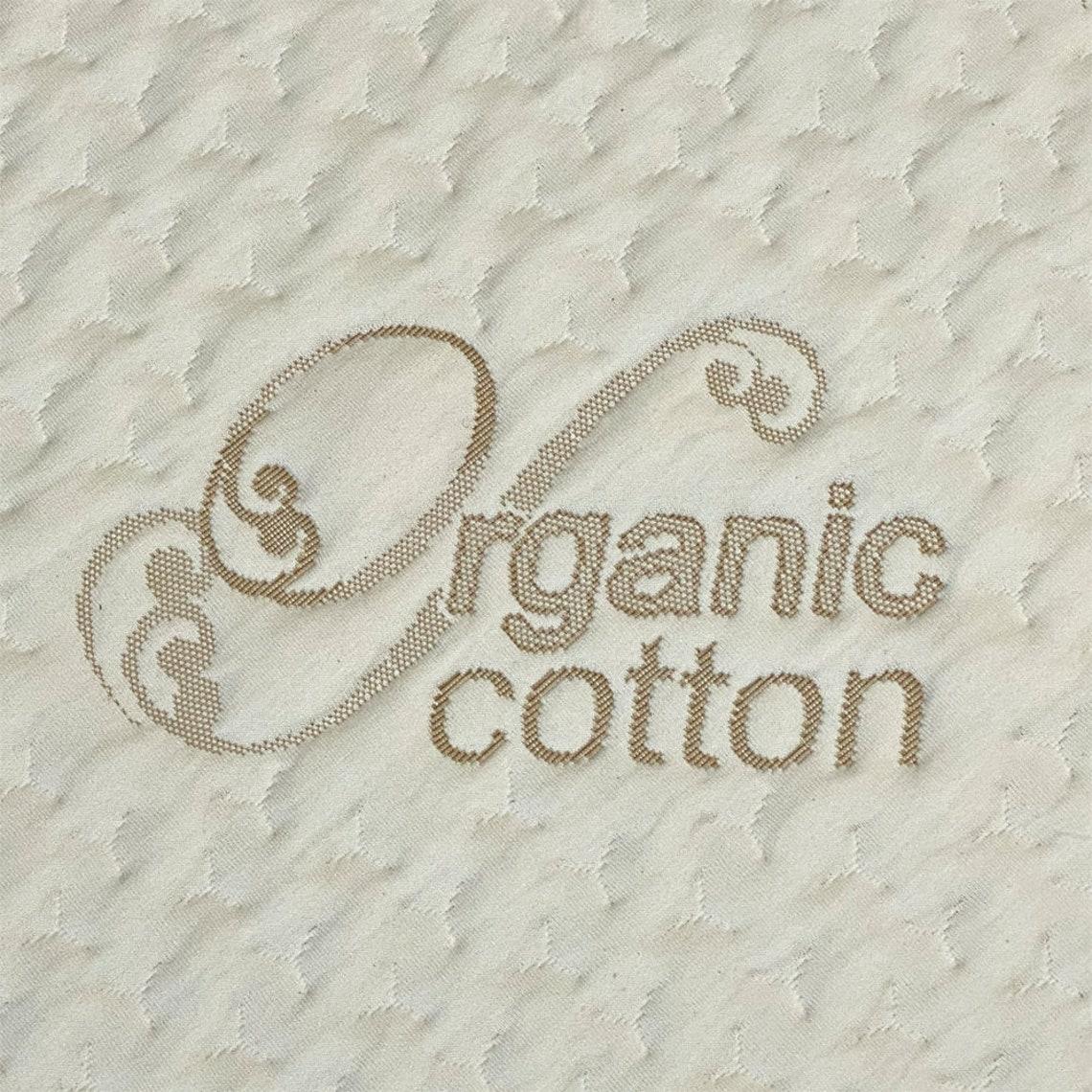 "RV Bunk Mattress 36"" x 72"" x 4""- 7"", High-Density Foam, Organic Cotton Cover, Made in USA"