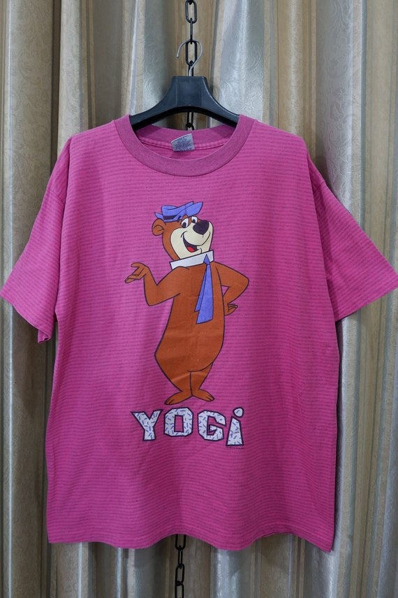Vintage Rare 1992 Yogi Bear cartoon T-shirt