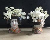 2 Small VASES JAPONAISES Satsuma Imari Porcelain
