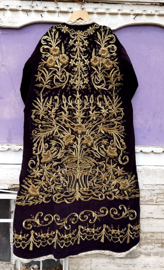 Ottoman Caftan from 19yy Anatolia Clothes Gold Emb