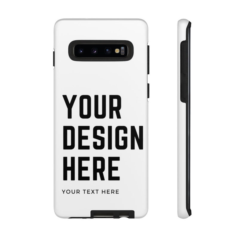 Image Text Design Custom Personalized High Protective Tough Phone Cases Custom