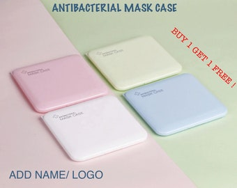 custom mask case with your favorite design great for kids Personalized Portable antibacterial Face Mask Case