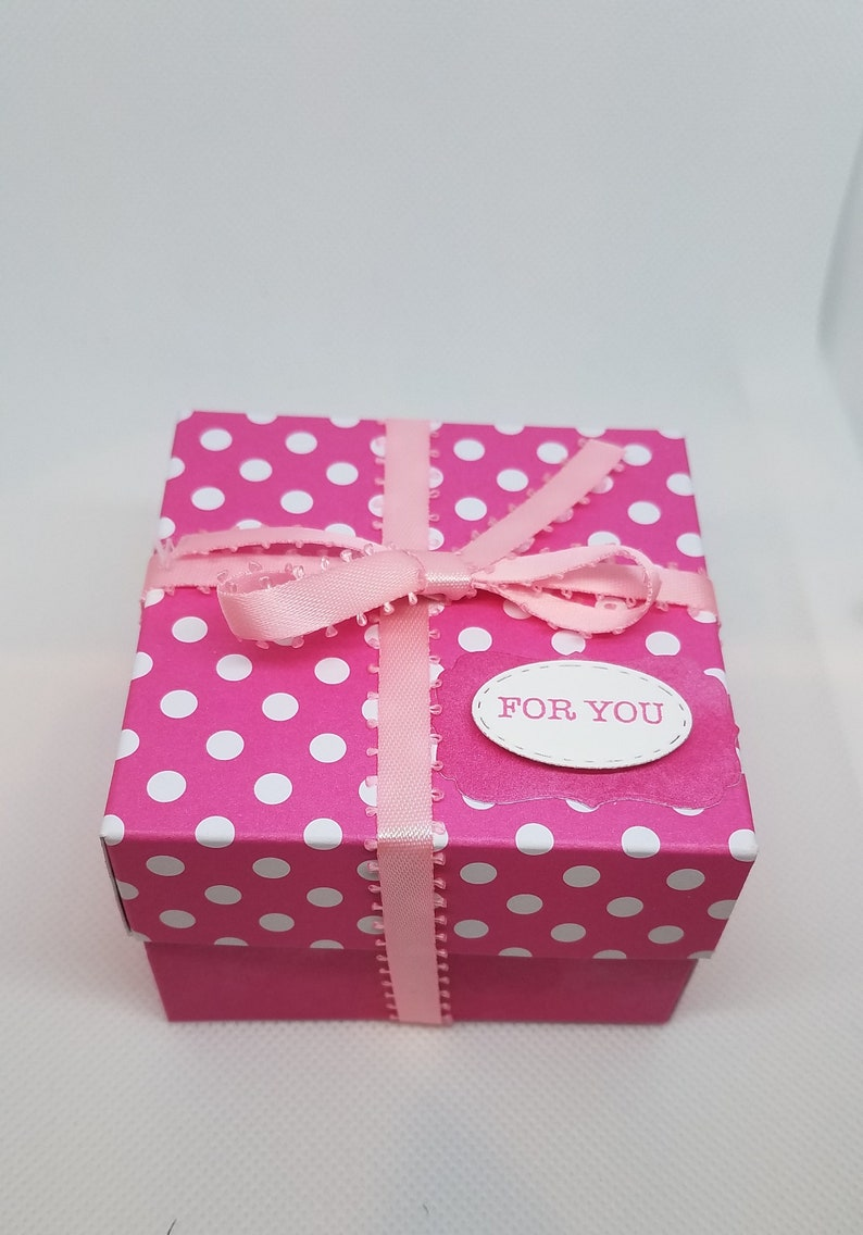 Minnie Mouse Theme A2 GREETING CARD /& Gift Box