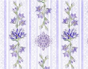 Digital Scrapbooking Paper - Vintage Floral 1 - Printable