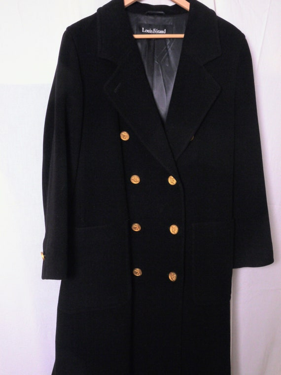 Beautiful Louis Féraud double-breasted overcoat