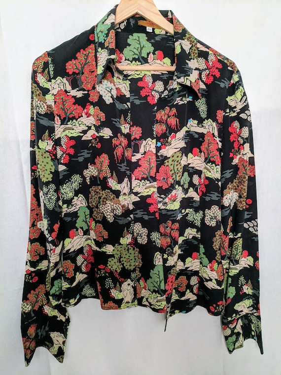 Vintage Kenzo pure silk blouse