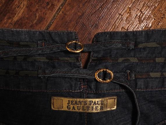 Vintage Jean Paul Gaultier 1980s wide-leg jeans