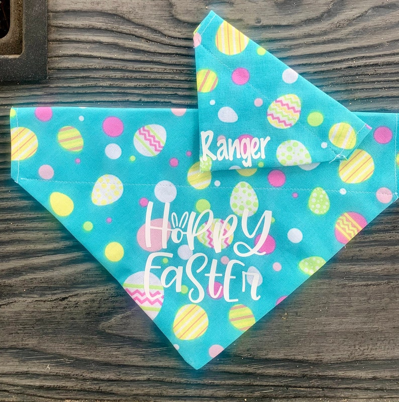 Hoppy Easter Pet Bandana