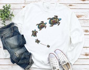 Turtle Shirt, Love Turtle Tshirt, Sea Turtle Shirt, Skip a Straw Save a Turtle Shirt, Save the Turtles, Save the Turtle Sweatshirt, Unisex