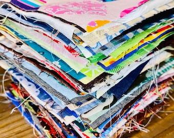 200 precut fabric squares size 4x4 inches